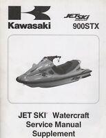 1999 KAWASAKI JET SKI 900STX SERVICE MANUAL SUPPLEMENT 99924-1242-51 (432)