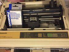 Panasonic KX-P155 Multi-mode Dot Matrix Style Printer W/24 Pin Cable & Ribbons