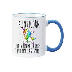 AUNTY MUG - Personalised Mug - AUNTICORN - AUNTY GIFT