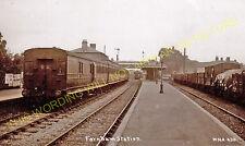 Farnham Railway Station Photo. Tongham - Bentley. Guildford to Alton Line. (5)