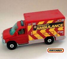 Ford E-350 Red AMBULANCE Unit #85 Emergency DVK87. 77/125 MBX 2017 New SEALED!