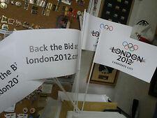 Juegos Olímpicos de Londres 2012 5 x Nuevo Banderas de la puja