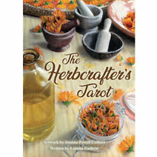 The Herbcrafter's Tarot (2019) NEW Deck and Book Boxed Set Hedgewitch Herb Cards
