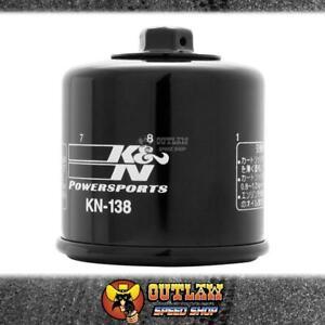 K&N MOTORCYCLE OIL FILTER FITS SUZUKI GSX - KN-138
