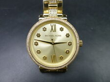 New Old Stock MICHEAL KORS Sofie MK3881 Gold Plated Quartz Women Watch