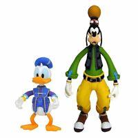 Kingdom Hearts Disney Donald Y Goofy Figura de Juguete