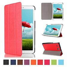 "Slim Smart Cover Case Stand for Samsung Galaxy Tab a 10.1"" T580 / T585 Tablet PC Rose Pink"