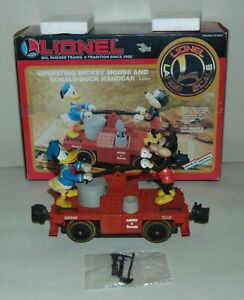 LIONEL Boxed MICKEY MOUSE AND DONALD DUCK HANDCAR 8-87207  Lot T