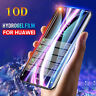 10D Hydrogel Film Screen Protector for Huawei Mate 20 Lite 10 Pro P20 Pro Lite