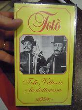 VHS NUOVO SIGILLATO IN CELLOPHANE - TOTO' , VITTORIO E LA DOTTORESSA - LEGOCART