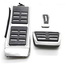 Edelstahl Fußstütze Pedale FUR Audi A4 B8 8K A5 8T A6 C7 A74GA A8 4H Q3 Q5