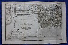 Original antique map ANCIENT GREECE, OLYMPIA, Barbie de Bocage 1796