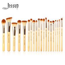 USA Jessup New 20pcs Bamboo Makeup Brush Set Cosmetic Brushes Kit Make up Tools
