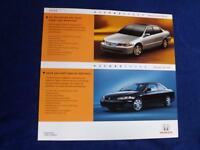 HONDA CARS DEALER SALES BROCHURE FLYER SPECIAL EDITION ACCORD SEDAN COUPE 2002