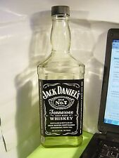 1  Jack Daniel's Old No. 7 Brand 1.75 L Empty Bottle for collectible