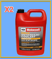 2 X Gallon Engine Coolant/Antifreeze Motorcraft VC7DILB 50/50 Gold