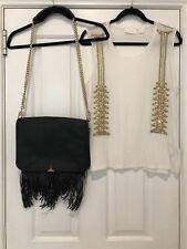 Sass And Bide Bag RRP $790 FREE Sass Bide Tee Top Size xs $290
