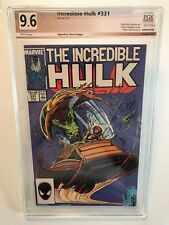 Incredible Hulk 331, RARE Signed by Steve Geiger, verified PGX 9.6, not CGC.
