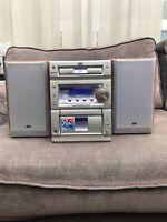 JVC Midi System Radio Cassette Player CD Aux CA-UXP55 Hi Fi Stereo