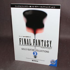 Final Fantasy Solo Guitar Collections Vol. 3 Tab Music Score and CD NEW