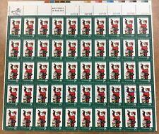 {BJ stamps} Error #1472  Christmas 1972 Mint sheet BLUE ink smear , spatter