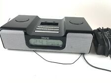 Apple iPhone Alarm Clock Radio Docking Station Model iH5B Tested With Adapter