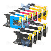 10 PACK LC71 LC75 NON-OEM Ink for BROTHER MFC-J430W LC-71 LC-75 LC71 LC75 LC79
