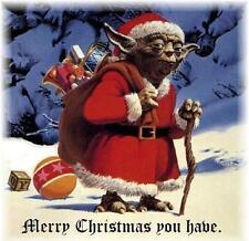 Christmas # 25 - 8 x 10 Tee Shirt Iron On Transfer Yoda