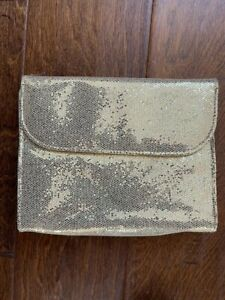 """NEW BAREMINERALS """"THE POWER OF GOOD"""" MAKEUP POUCH - TRAVEL SIZE CASE"""