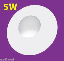 NEW 5W DIY LED Disc Downlight Single 12V White Under Bench Cabinet Caravan
