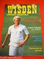 WISDEN - JOHN ARLOTT ON 1947 - APRIL 1987