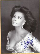 Sophia Loren-signed photo-26 abc