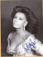 Sophia Loren-signed photo-17 - JSA COA