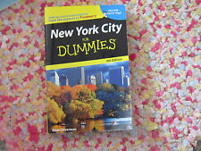 New York City for dummies 4th edition book Brian Silverman free shipping GUC