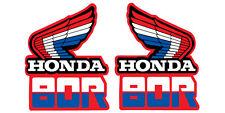 1985 HONDA XR 80 TANK DECAL SET VINTAGE MOTOCROSS AHRMA
