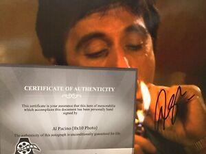 Al Pacino Tony Montana Scarface signed autographed 8 x 10 photo CO