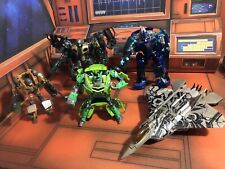 Transformers The Movie Rotf Lot Of 5! Skids-Starscream-Brawn-Jolt