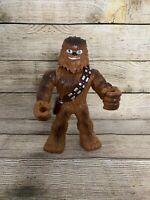 """Mega Mighties 10"""" Chewie Chewbacca Star Wars Figure Galactic Heroes Toy Used"""