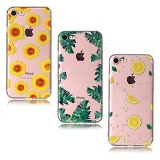 Apple Iphone 8 teléfono caso 3-Pack De Goma Suave Funda De Silicona Flexible Niñas Claro