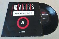 "MARRS pump up the volume 7"" vinyl record AD 707"