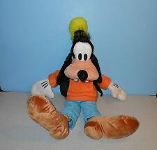 "Quality Made Large 22"" Disney Theme Park World Goofy Floppy Stuffed Plush Pal"