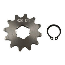 420 12T 20mm Front Engine Sprocket For Chinese Pit Bikes And Atvs 125cc Lifan