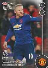 Topps now! 40 Premier League 2016/2017 - Man United Record Breaking Wayne Rooney