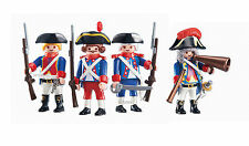 PLAYMOBIL  SOLDIER  SET   OF 6436  & 6435  NEW IN UNOPENED SEALING BAG collector