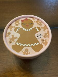 TOO FACED Gingerbread Sugar Kissable Body Shimmer/Powder With Puff Unused