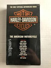 HARLEY DAVIDSON THE AMERICAN MOTORCYCLE Vhs Tape 1993  Factory Sealed