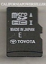 Latest Toyota 4Runner RAV4 Limited XLE Navigation Micro SDCard Map 86271-OE182*