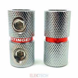 Set of Two Stinger SPT5211 Power Wire Coupler 4 AWG Gauge IN/OUT PAIR Qty2