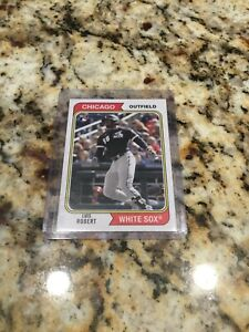 2020 Luis Robert Topps Archives Pulled From Pack Possible PSA 10???