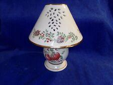 Lenox Williamsburg Boxwood & Pine Tea Light Lamp Pre-Owned